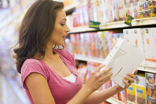 пазаруване и етикети