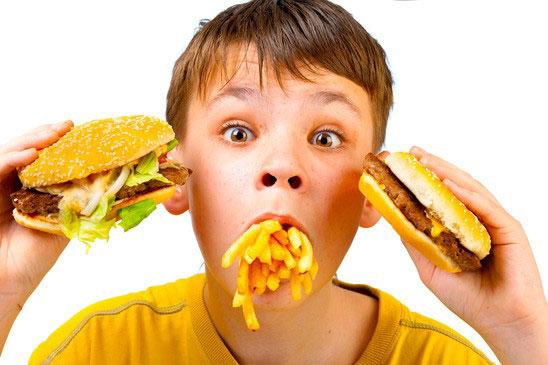 храна в заведенията за бързо хранене